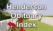 Henderson Obituary Index