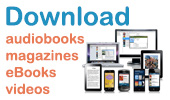 Download audiobooks, eBooks, video, & music