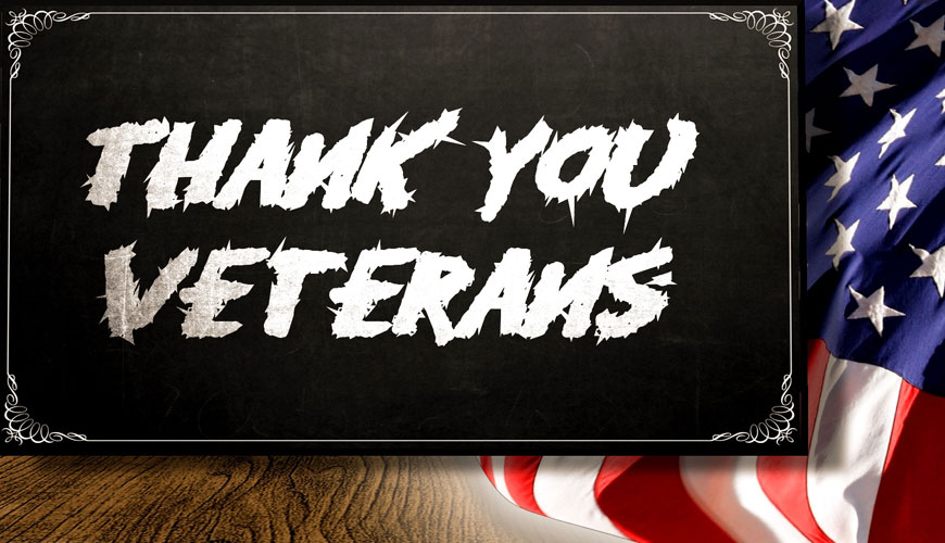 Have You Thanked a Veteran?
